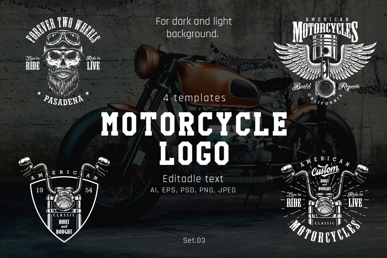 Motorcycle templates