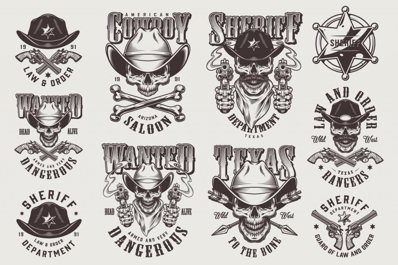 Wild West Designs Set