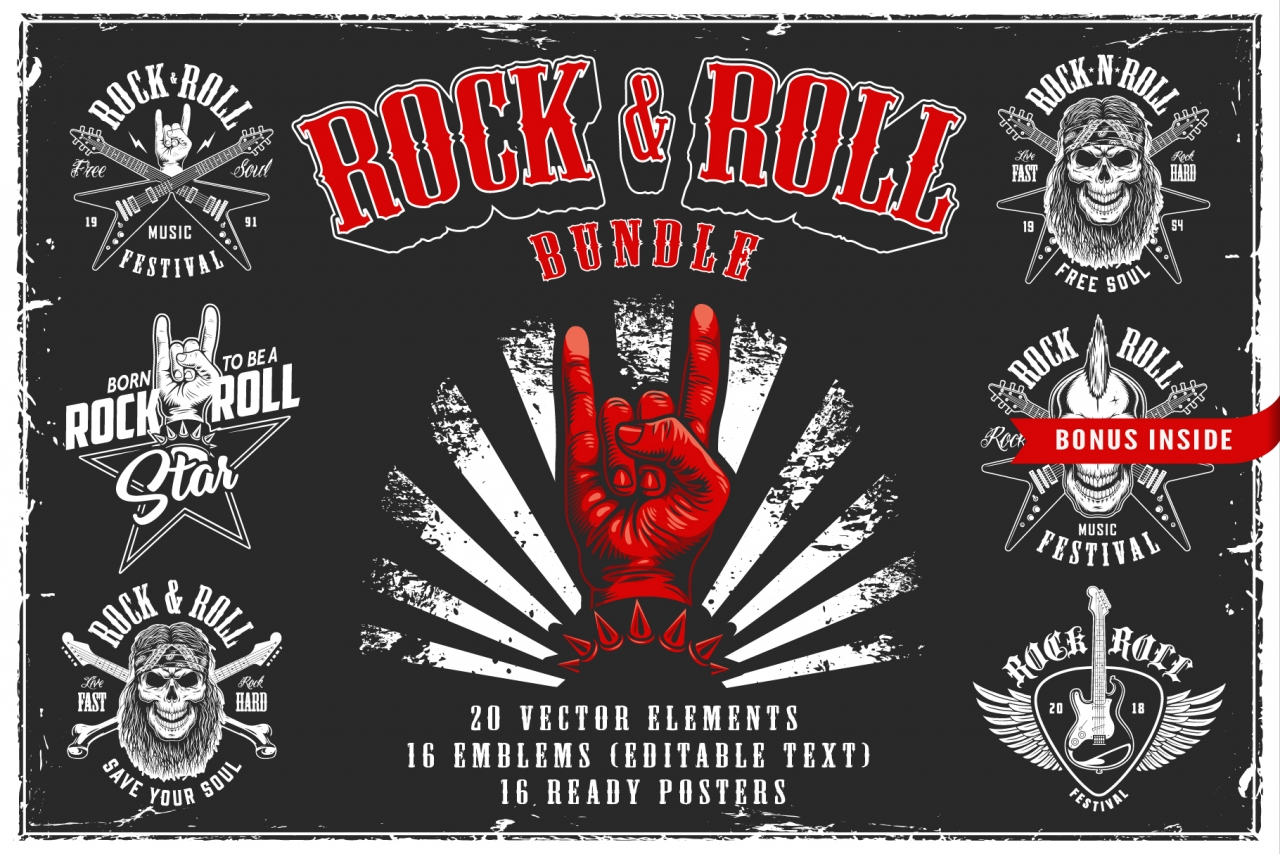 "SAVE 54% ""Rock & Roll Bundle"""