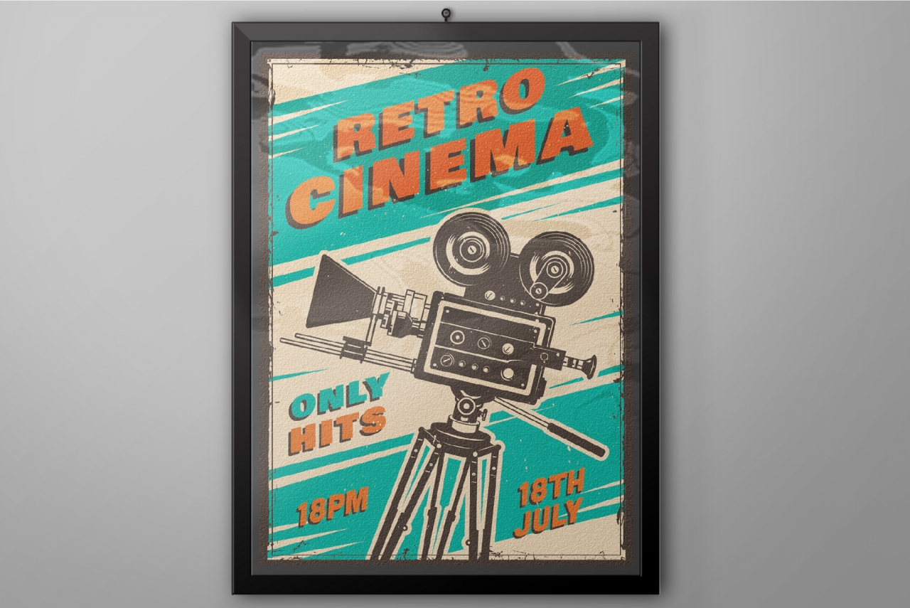 12 Cinema Posters