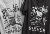 Skull truck driver