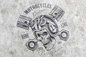 Motorcycle emblems