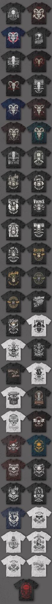 50 t-shirt designs