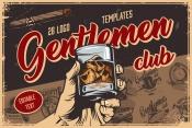 Gentlemen Emblems Set