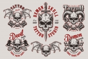 Demons Emblems Collection