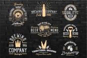 Beer template. Set 2