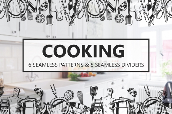 Cooking seamless patterns