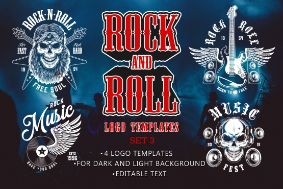 Rock & Roll Emblems Collection